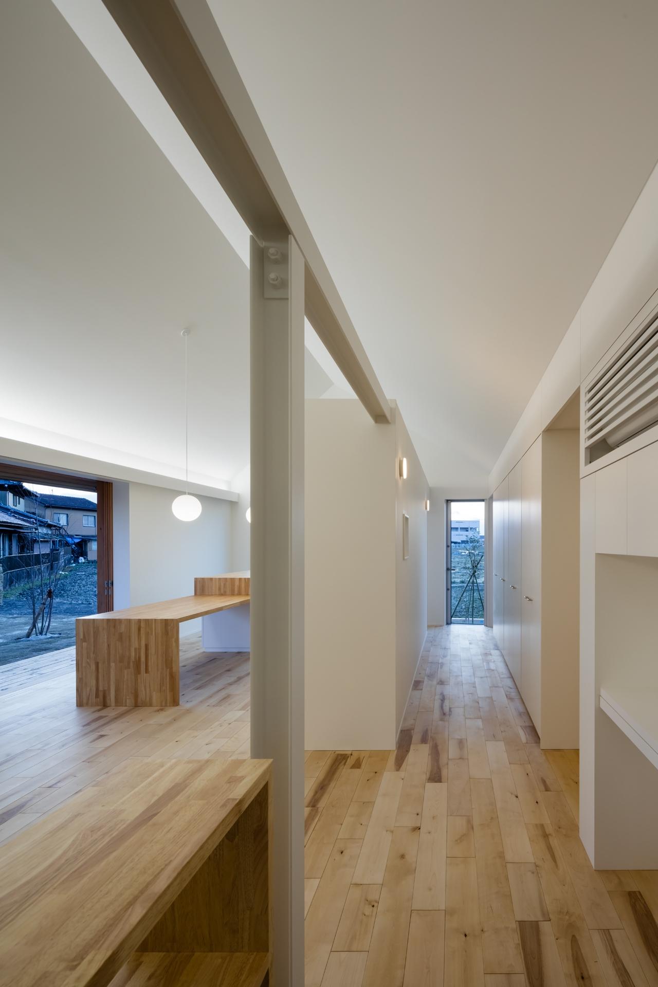 犬山の住宅 内観