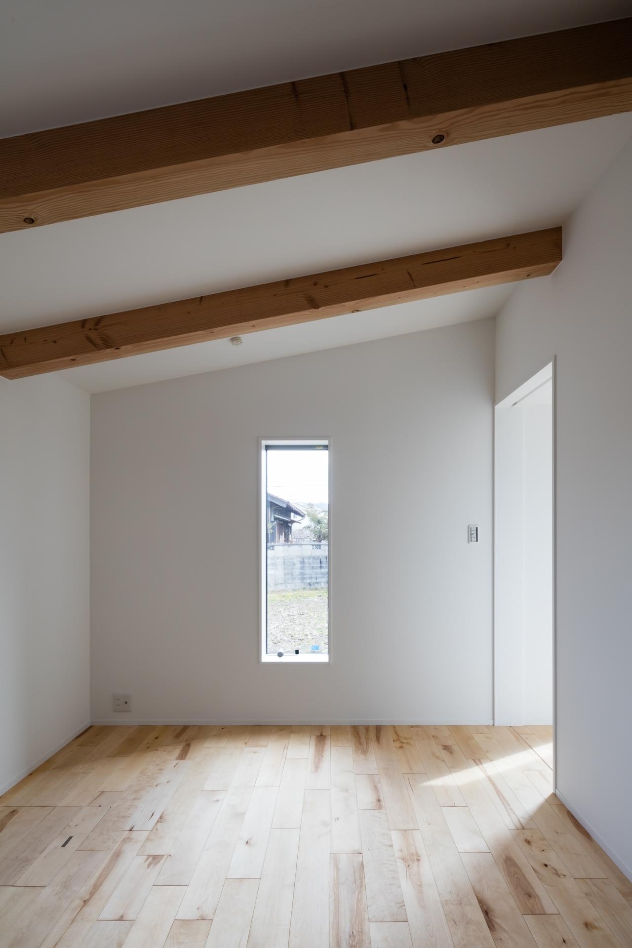 犬山の住宅 寝室