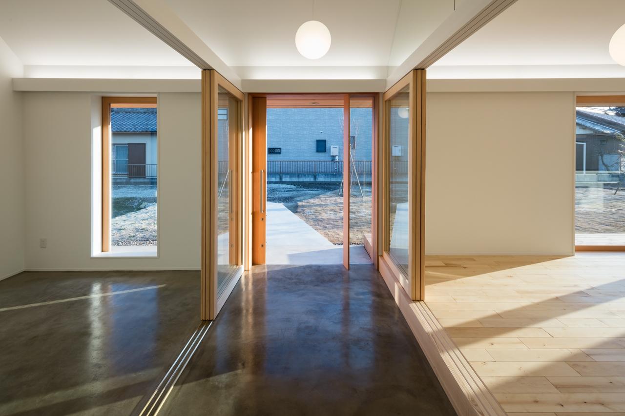 犬山の住宅 玄関土間