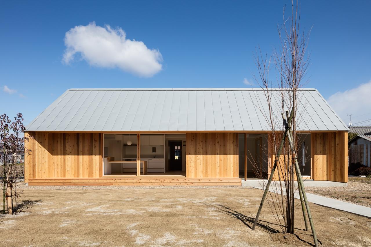 犬山の住宅 冬