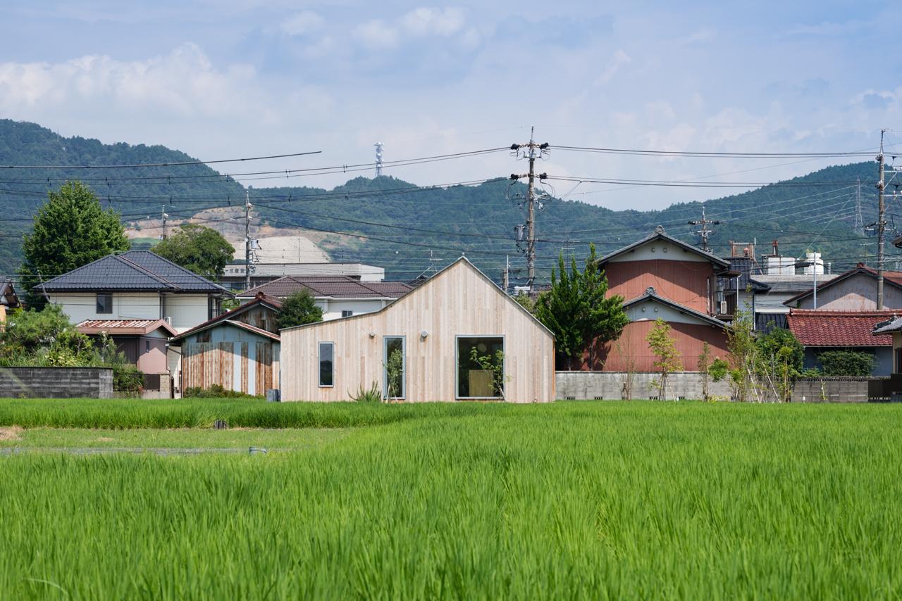 犬山の住宅 西側外観