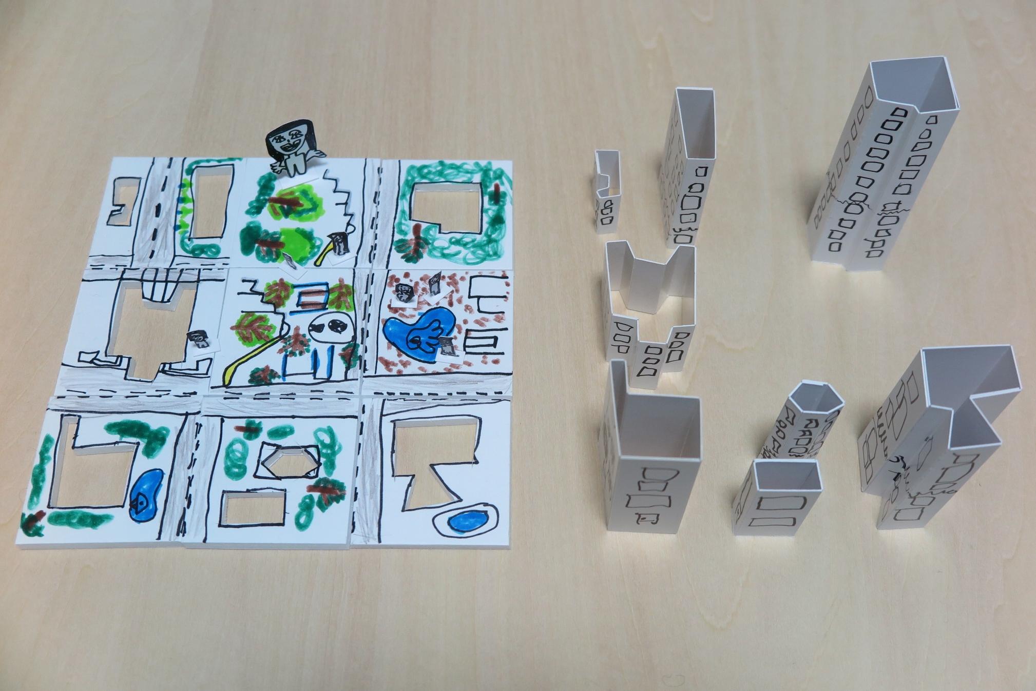 ビルディングパズルから02