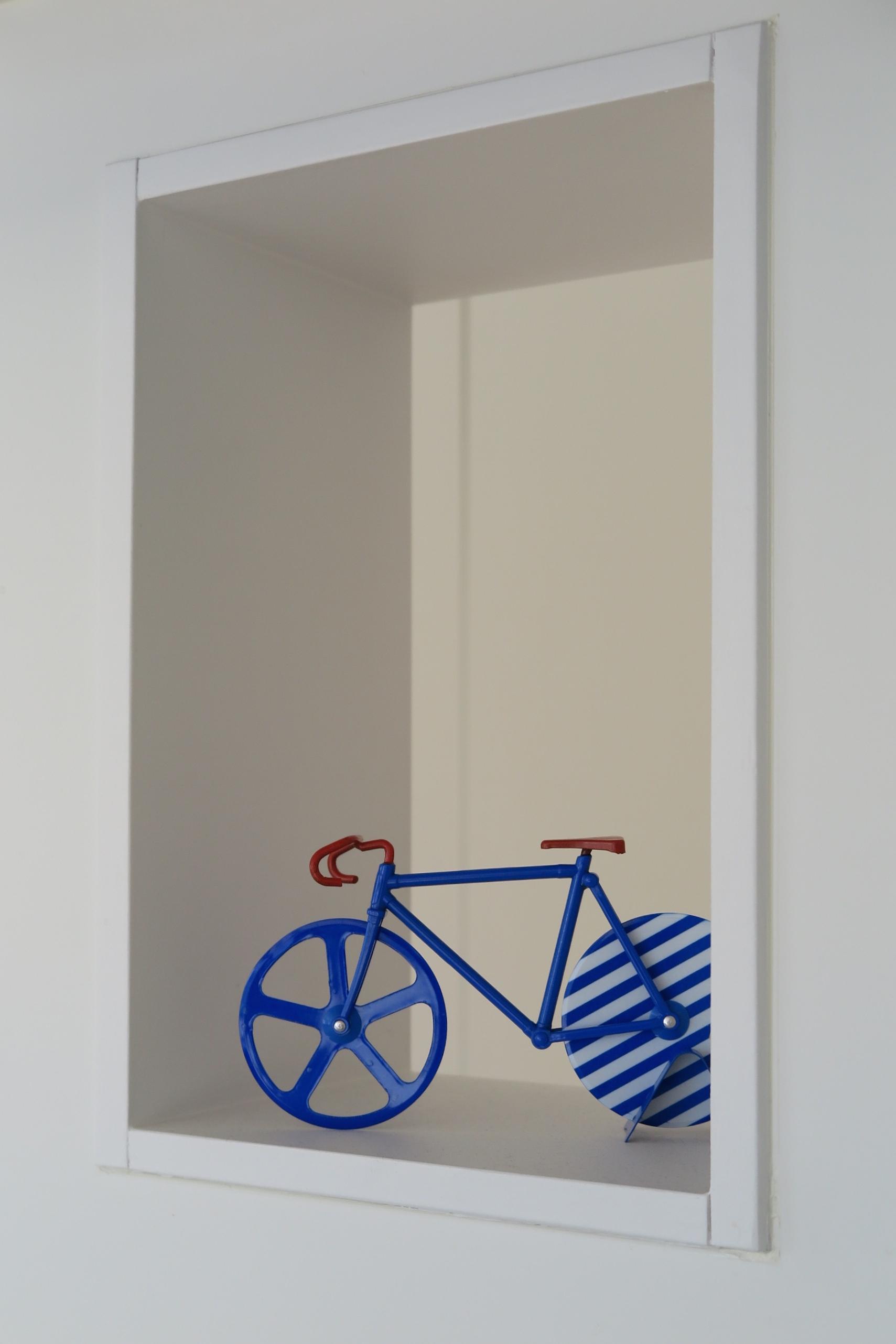 ピザカッター自転車